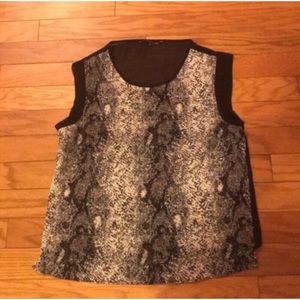W118 by Walter Baker Snake Print Top